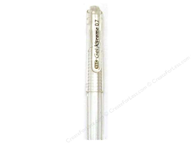 Y&C Gel Xtreme Pen .7mm Pastel White