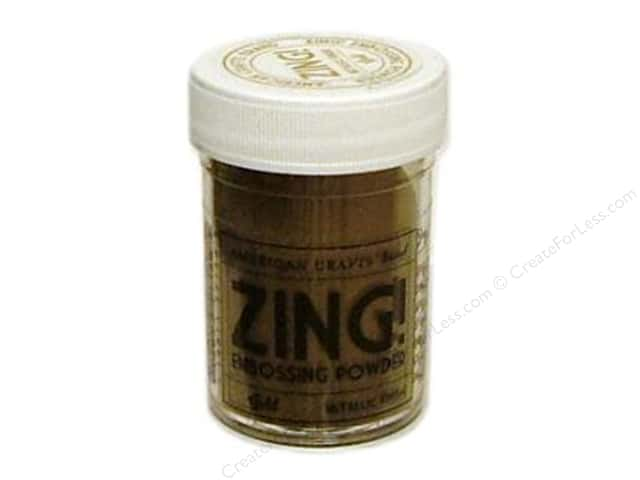 American Crafts Zing! Embossing Powder 1 oz. Metallic Gold