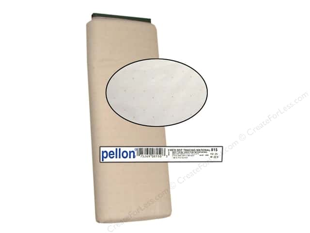 Pellon Tracing Material Red Dot 45 in. x 25 yd.