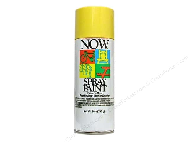 Krylon Now Spray Paint 9 oz. Sunshine Yellow