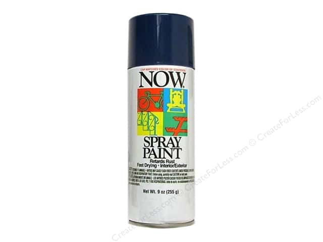 Krylon Now Spray Paint 9oz Royal Blue