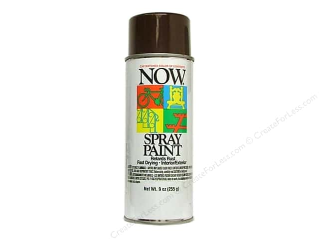 Krylon Now Spray Paint 9 oz. Cocoa Brown