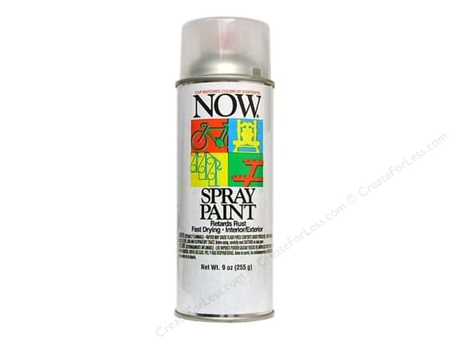 Krylon Now Spray Paint 9 oz. Clear Gloss