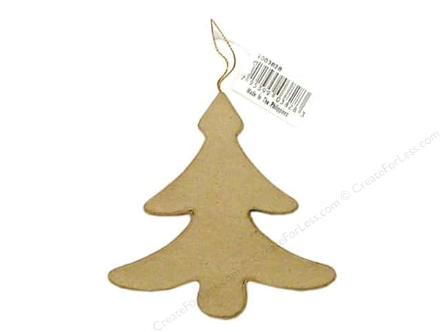 PA Paper Mache New Tree Ornament 5 in.
