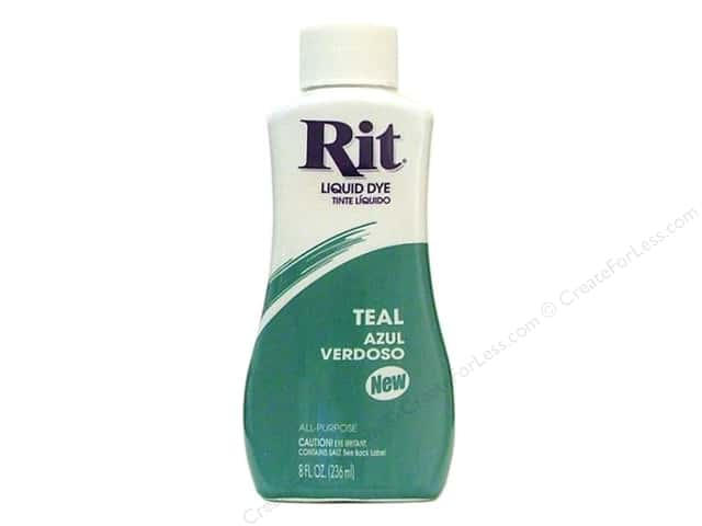 Rit Dye Liquid Dye 8 oz. Teal