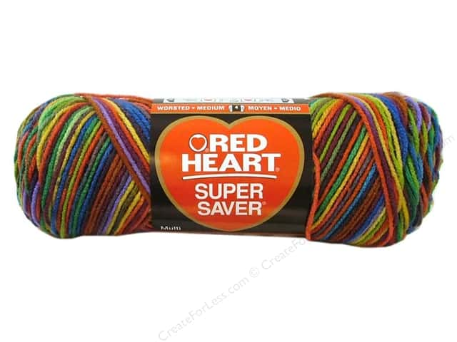 Red Heart Super Saver Yarn #0964 Primary 244 yd.