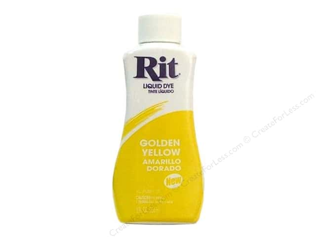 Rit Dye Liquid Dye 8 oz. Golden Yellow