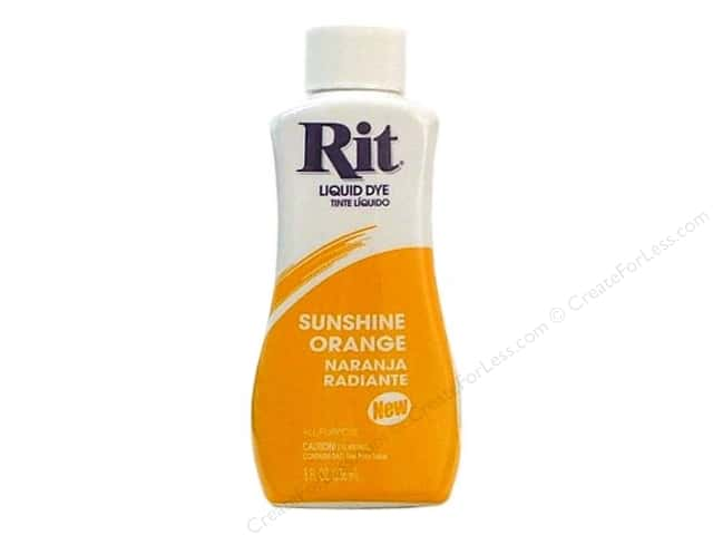 Rit Dye Liquid Dye 8 oz. Sunshine Orange