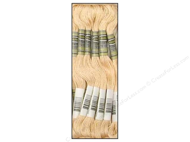 Sullivans Six-Strand Embroidery Floss 8.7 yd. Very Light Desert Sand (12 skeins)