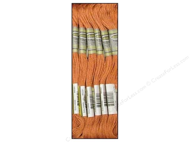 Sullivans Six-Strand Embroidery Floss 8.7 yd. Light Terra Cotta (12 skeins)