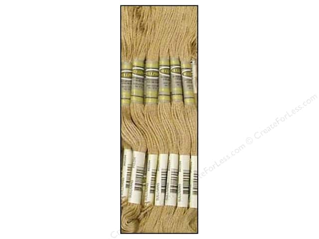 Sullivans Six-Strand Embroidery Floss 8.7 yd. Light Mocha Brown (12 skeins)