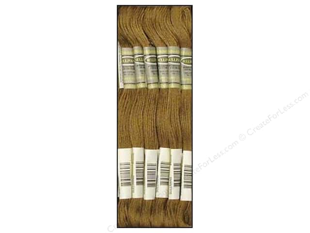 Sullivans Six-Strand Embroidery Floss 8.7 yd. Ultra Dark Beige Grey (12 skeins)
