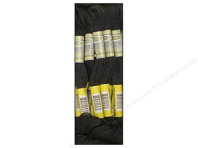 Sullivans Six-Strand Embroidery Floss 8.7 yd. Very Dark Pewter Grey (12 skeins)