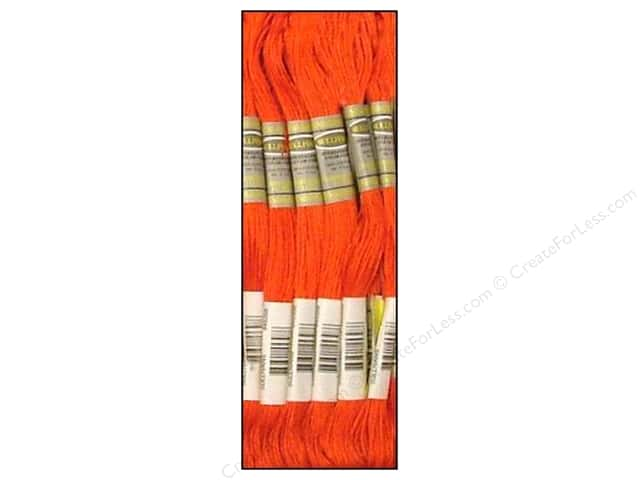 Sullivans Six-Strand Embroidery Floss 8.7 yd. Very Dark Melon (12 skeins)