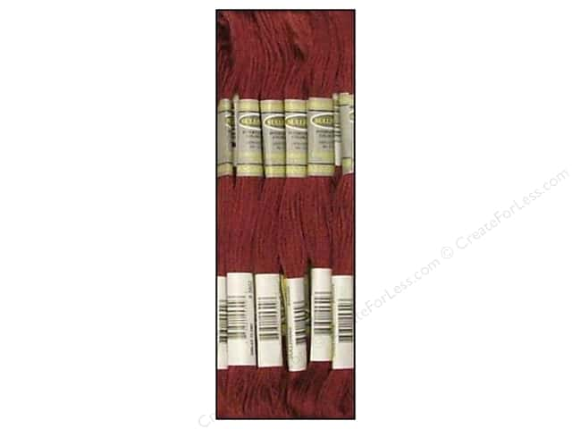 Sullivans Six-Strand Embroidery Floss 8.7 yd. Very Dark Antique Mauve (12 skeins)