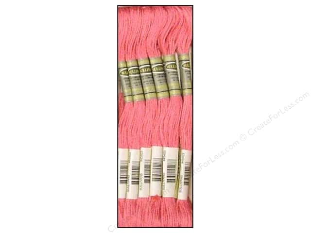 Sullivans Six-Strand Embroidery Floss 8.7 yd. Light Cyclamen Pink (12 skeins)