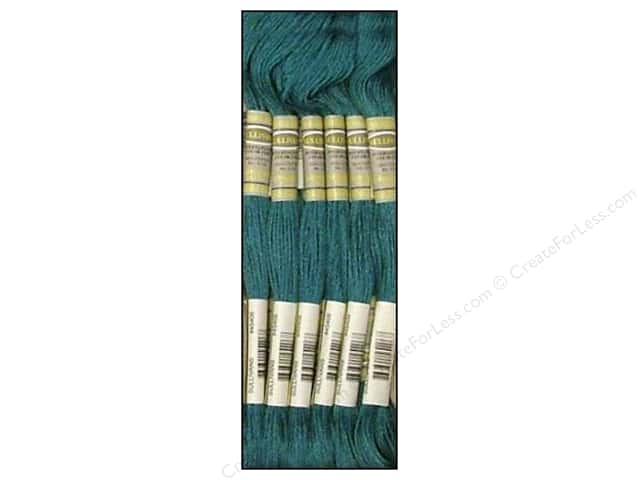 Sullivans Six-Strand Embroidery Floss 8.7 yd. Very Dark Turquoise (12 skeins)