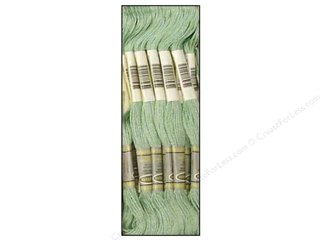 Sullivans Six-Strand Embroidery Floss 8.7 yd. Light Blue Green (12 skeins)
