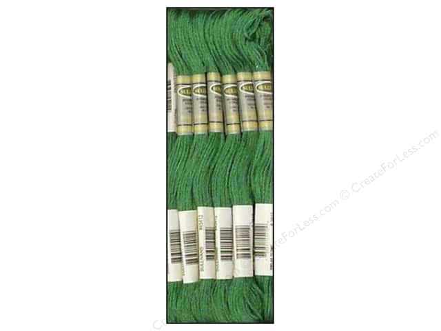 Sullivans Six-Strand Embroidery Floss 8.7 yd. Dark Celadon Green (12 skeins)
