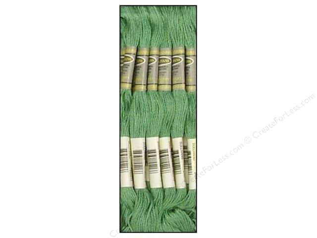 Sullivans Six-Strand Embroidery Floss 8.7 yd. Celadon Green (12 skeins)