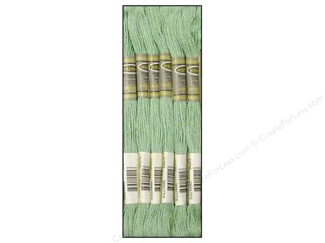 Sullivans Six-Strand Embroidery Floss 8.7 yd. Light Celadon Green (12 skeins)