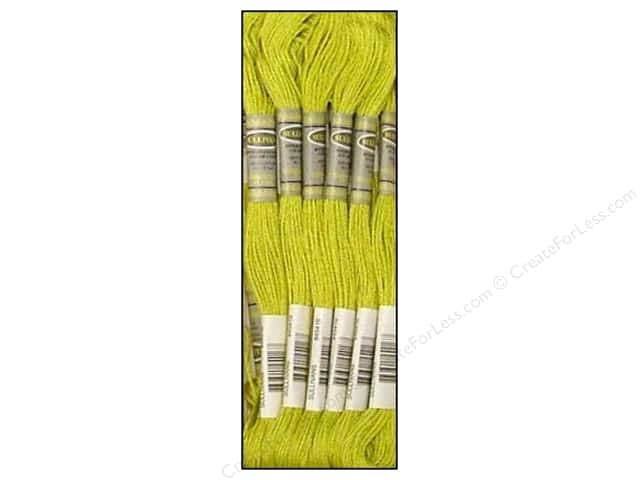 Sullivans Six-Strand Embroidery Floss 8.7 yd. Light Moss Green (12 skeins)