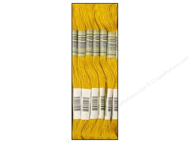Sullivans Six-Strand Embroidery Floss 8.7 yd. Dark Straw (12 skeins)