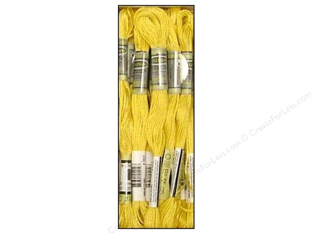 Sullivans Six-Strand Embroidery Floss 8.7 yd. Light Straw (12 skeins)