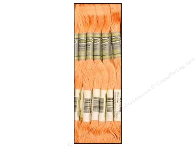 Sullivans Six-Strand Embroidery Floss 8.7 yd. Light Apricot (12 skeins)