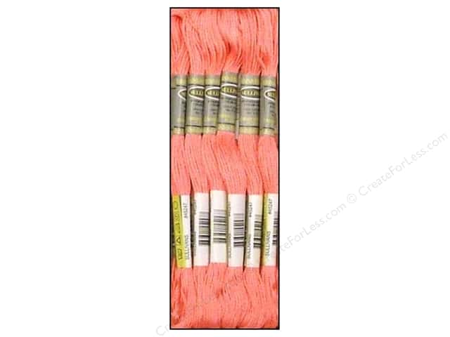 Sullivans Six-Strand Embroidery Floss 8.7 yd. Very Light Carnation (12 skeins)