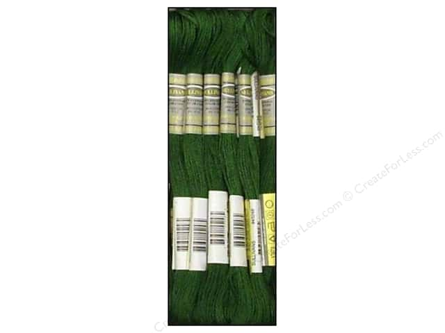 Sullivans Six-Strand Embroidery Floss 8.7 yd. Very Dark Hunter Green (12 skeins)