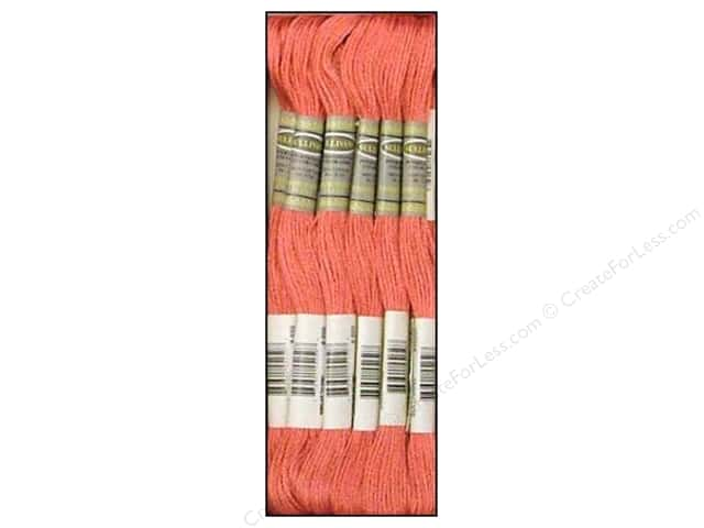 Sullivans Six-Strand Embroidery Floss 8.7 yd. Medium Rose (12 skeins)