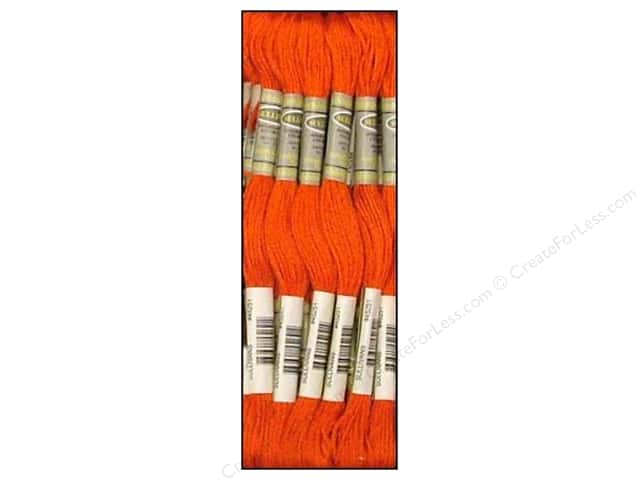 Sullivans Six-Strand Embroidery Floss 8.7 yd. Dark Burnt Orange (12 skeins)
