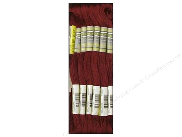 Sullivans Six-Strand Embroidery Floss 8.7 yd. Very Dark Garnet (12 skeins)