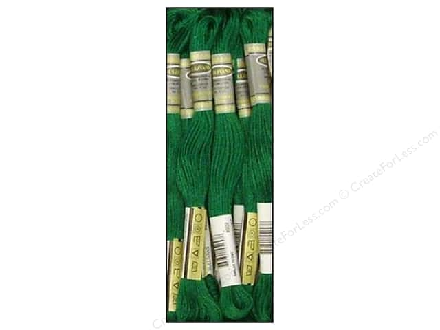Sullivans Six-Strand Embroidery Floss 8.7 yd. Very Dark Emerald Green (12 skeins)