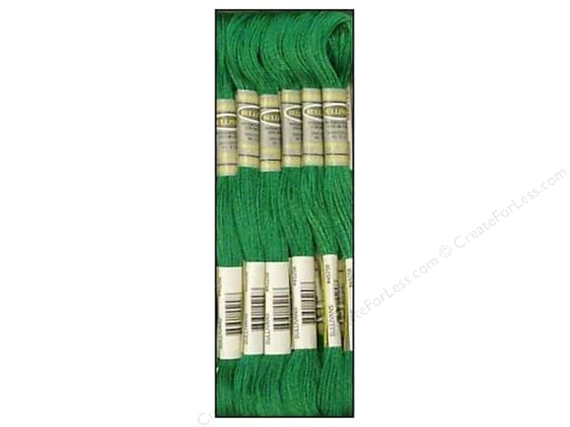 Sullivans Six-Strand Embroidery Floss 8.7 yd. Dark Emerald Green (12 skeins)