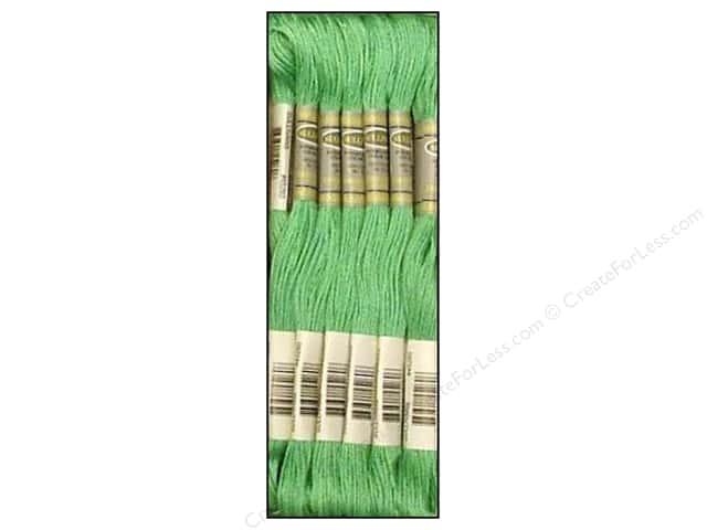 Sullivans Six-Strand Embroidery Floss 8.7 yd. Light Emerald Green (12 skeins)