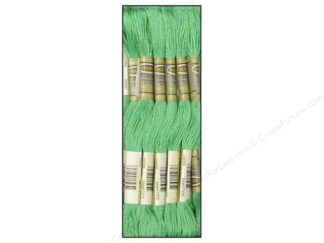 Sullivans Six-Strand Embroidery Floss 8.7 yd. Medium Nile Green (12 skeins)
