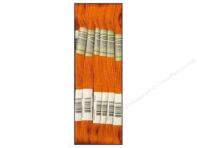 Sullivans Six-Strand Embroidery Floss 8.7 yd. Copper (12 skeins)