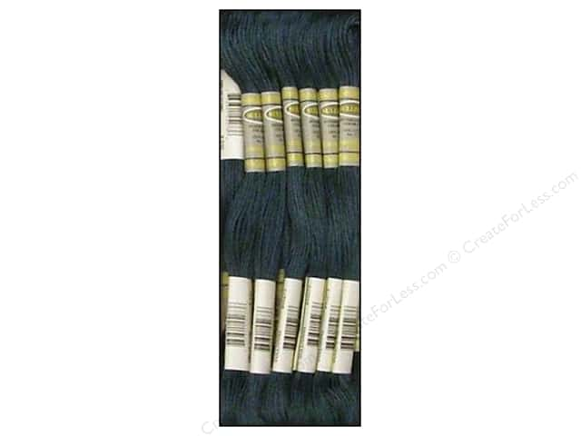 Sullivans Six-Strand Embroidery Floss 8.7 yd. Dark Antique Blue (12 skeins)