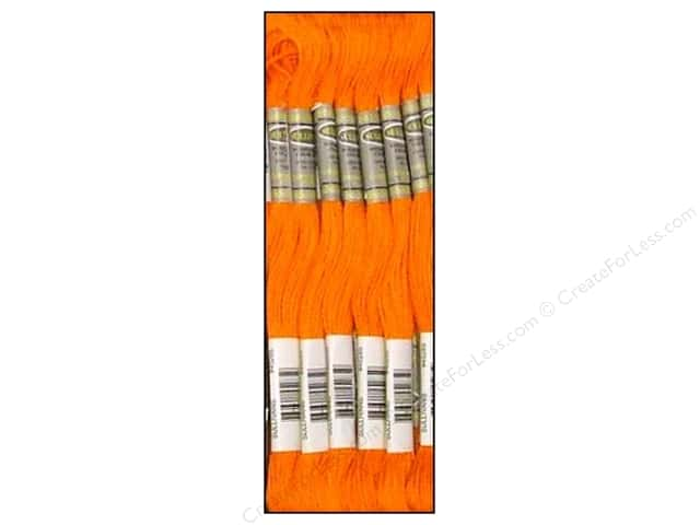 Sullivans Six-Strand Embroidery Floss 8.7 yd. Burnt Orange