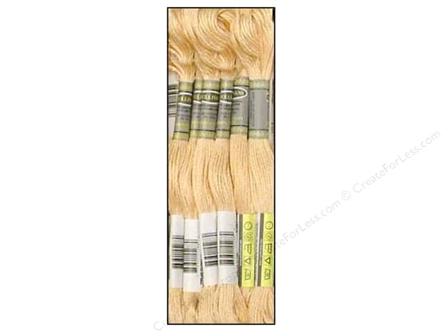 Sullivans Six-Strand Embroidery Floss 8.7 yd. Light Tawny (12 skeins)
