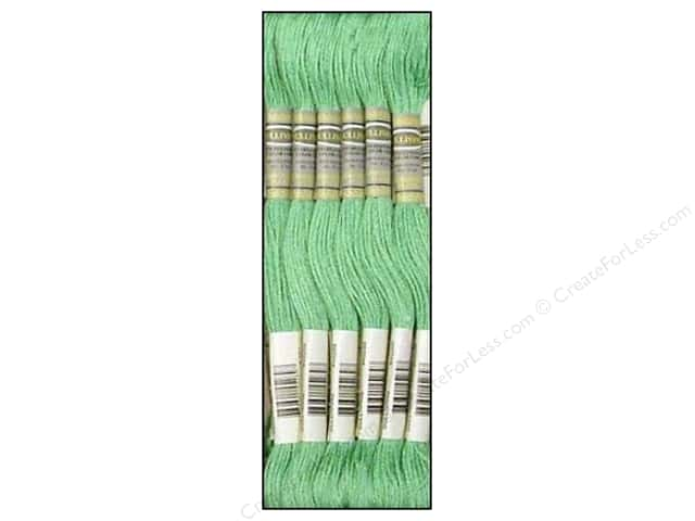 Sullivans Six-Strand Embroidery Floss 8.7 yd. Nile Green (12 skeins)