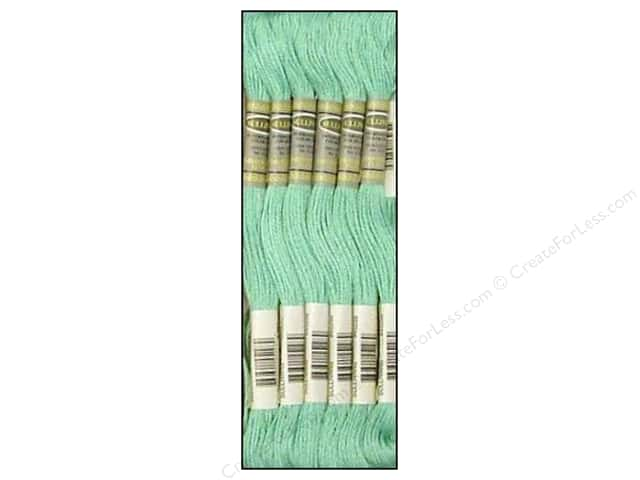 Sullivans Six-Strand Embroidery Floss 8.7 yd. Light Sea Green (12 skeins)