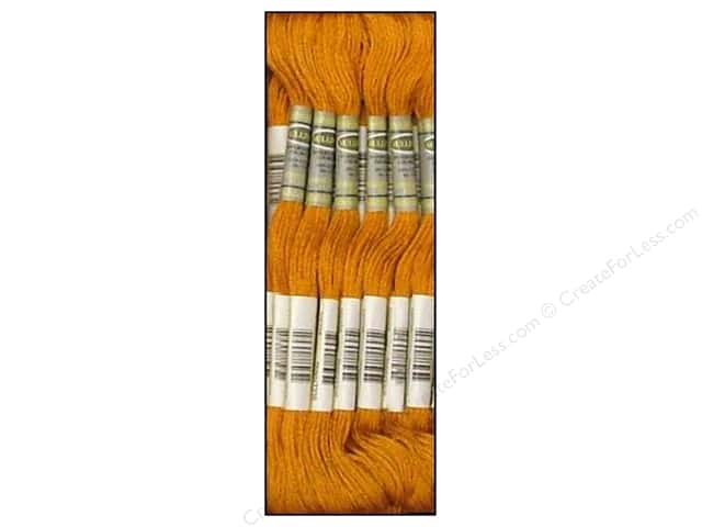 Sullivans Six-Strand Embroidery Floss 8.7 yd. Medium Golden Brown (12 skeins)