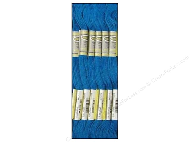 Sullivans Six-Strand Embroidery Floss 8.7 yd. Dark Electric Blue (12 skeins)