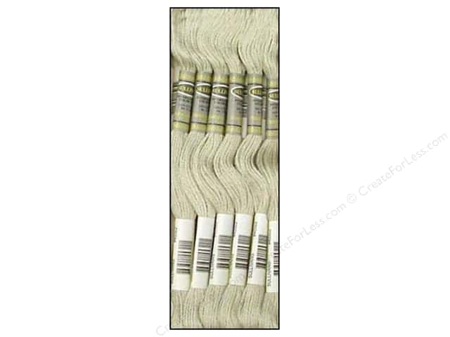 Sullivans Six-Strand Embroidery Floss 8.7 yd. Very Light Brown Grey (12 skeins)