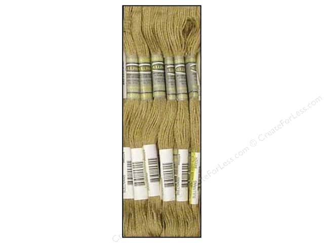 Sullivans Six-Strand Embroidery Floss 8.7 yd. Medium Mocha Brown (12 skeins)