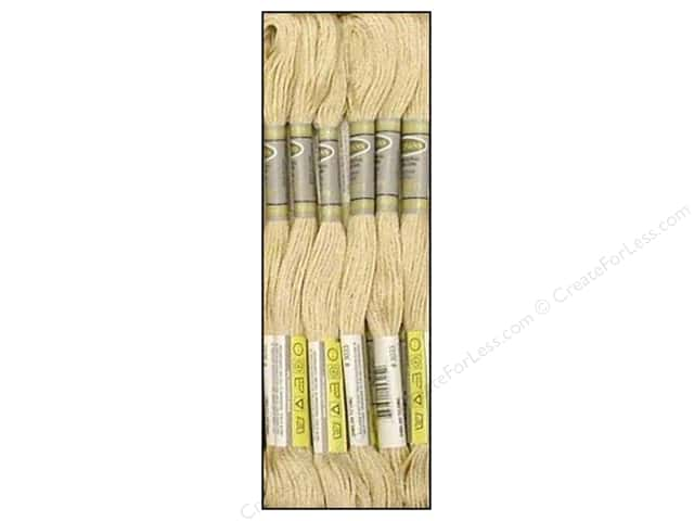 Sullivans Six-Strand Embroidery Floss 8.7 yd. Very Light Mocha Brown (12 skeins)