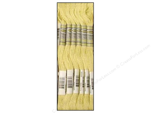 Sullivans Six-Strand Embroidery Floss 8.7 yd. Light Yellow Beige (12 skeins)